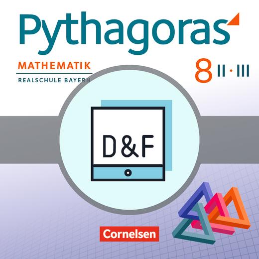 Pythagoras - Diagnose und Fördern online - 8. Jahrgangsstufe (WPF II/III)