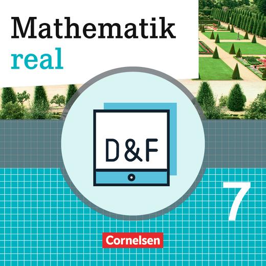 Mathematik real - Diagnose und Fördern online - 7. Schuljahr