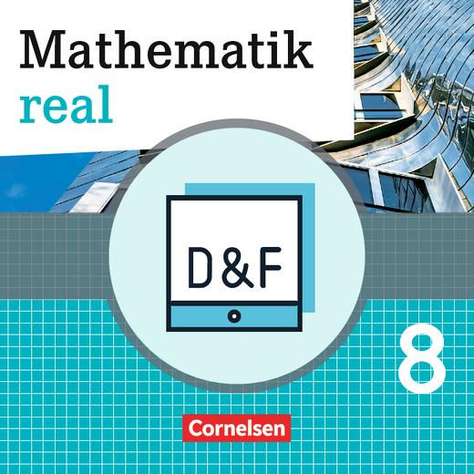 Mathematik real - Diagnose und Fördern online - 8. Schuljahr