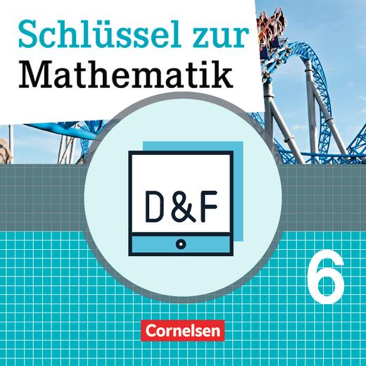 Schlüssel zur Mathematik - Diagnose und Fördern online - 6. Schuljahr
