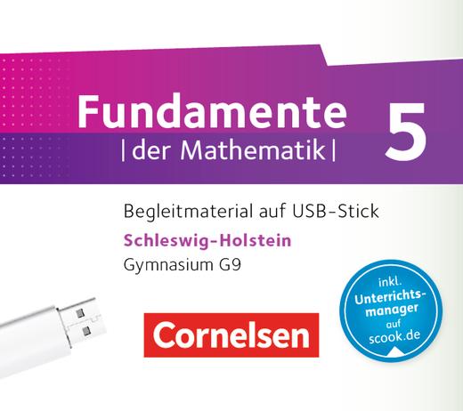 Fundamente der Mathematik - Begleitmaterial auf USB-Stick - 5. Schuljahr