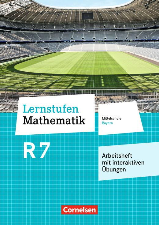 Lernstufen Mathematik - Arbeitsheft mit eingelegten Lösungen und interaktiven Übungen auf scook.de - 7. Jahrgangsstufe
