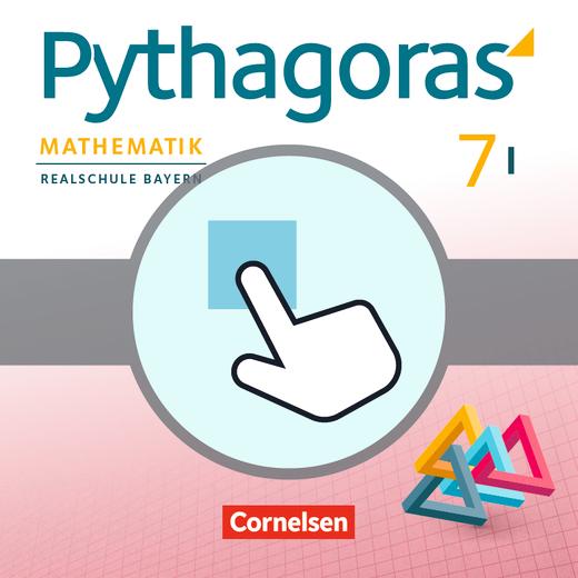 Pythagoras - Interaktive Übungen als Ergänzung zum Arbeitsheft - 7. Jahrgangsstufe (WPF I)