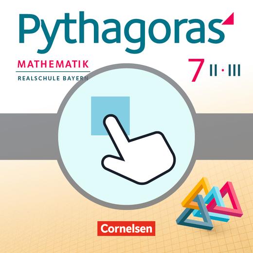 Pythagoras - Interaktive Übungen als Ergänzung zum Arbeitsheft - 7. Jahrgangsstufe (WPF II/III)