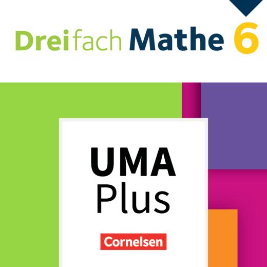 Dreifach Mathe - Unterrichtsmanager Plus online - 6. Schuljahr