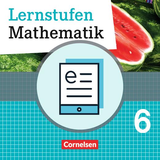 Lernstufen Mathematik - Schülerbuch als E-Book - 6. Schuljahr