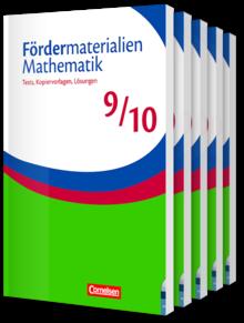 Fördermaterialien Mathematik - Sekundarstufe I