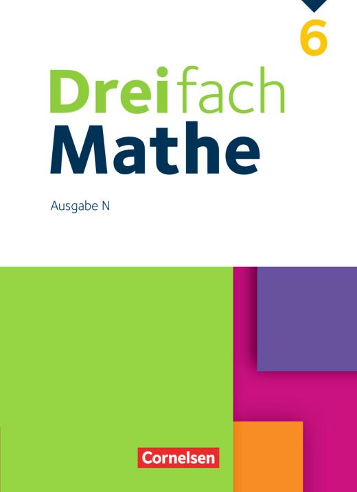 Dreifach Mathe - Schülerbuch - 6. Schuljahr