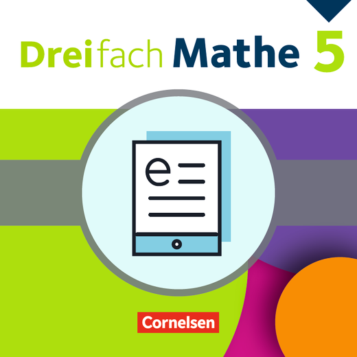 Dreifach Mathe - Schülerbuch als E-Book - 5. Schuljahr