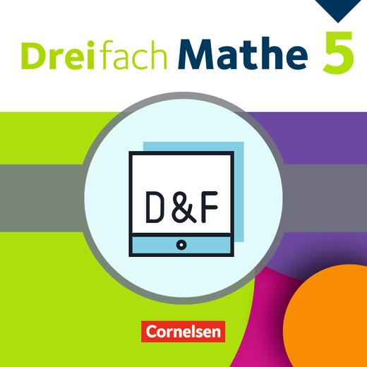 Dreifach Mathe - Diagnose und Fördern online - 5. Schuljahr