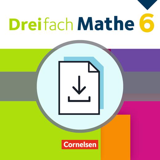 Dreifach Mathe - Klassenarbeiten als Download - 6. Schuljahr