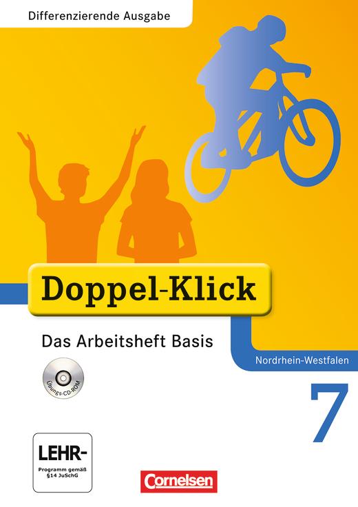 Doppel-Klick - Das Arbeitsheft Basis mit CD-ROM - 7. Schuljahr