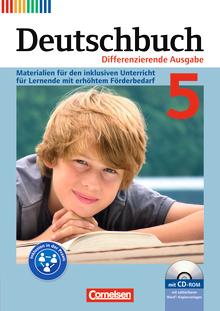 Deutschbuch - Materialien für den inklusiven Unterricht für Lernende mit erhöhtem Förderbedarf - Mit Kopiervorlagen und CD-ROM - 5. Schuljahr