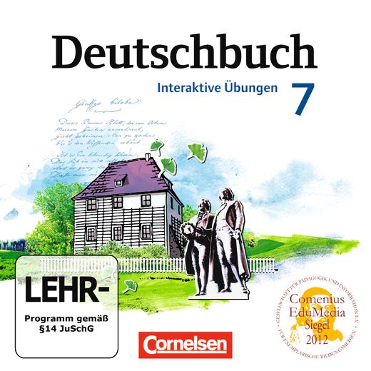 Deutschbuch Gymnasium - Übungs-CD-ROM zum Arbeitsheft - 7. Schuljahr