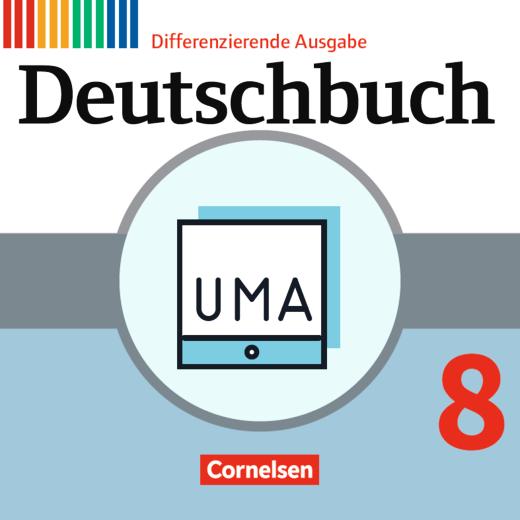 Deutschbuch - Unterrichtsmanager Zusatzmodul - Ergänzende Dateien zur Vollversion - Inklusionsmaterial - online und als Download - 8. Schuljahr