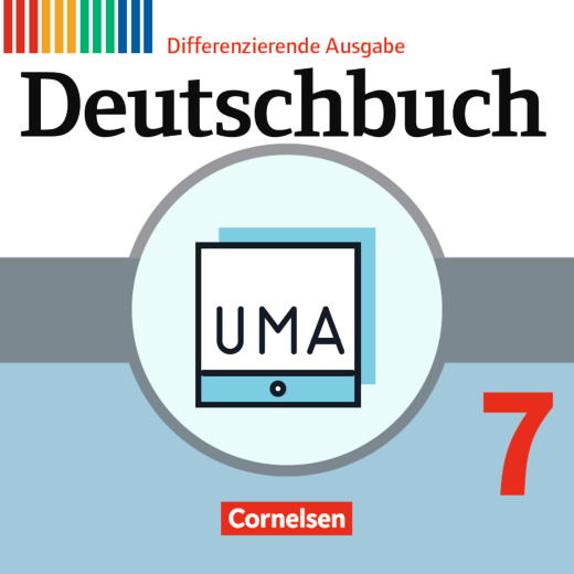 Deutschbuch - Unterrichtsmanager Zusatzmodul - Ergänzende Dateien zur Vollversion - Inklusionsmaterial - online und als Download - 7. Schuljahr