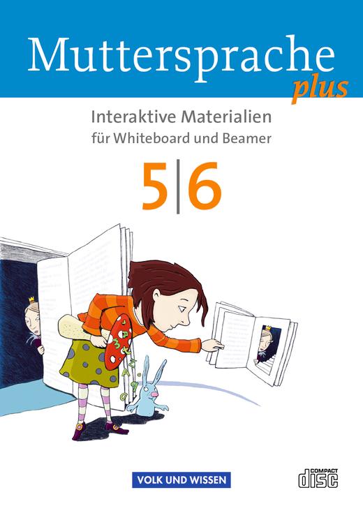 Muttersprache plus - Interaktive Materialien für Whiteboard und Beamer - CD-ROM - 5./6. Schuljahr