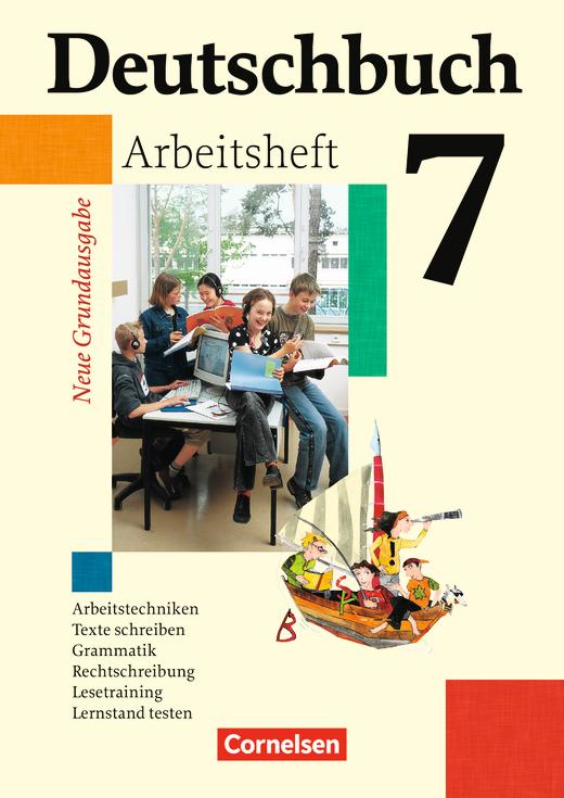 Deutschbuch - Arbeitsheft mit Lösungen - 7. Schuljahr