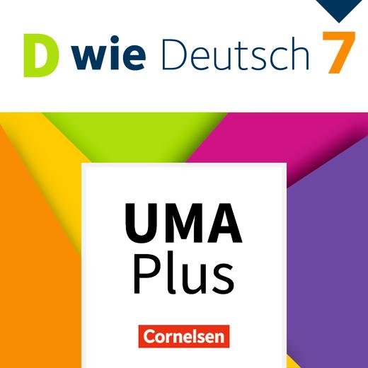 D wie Deutsch - Unterrichtsmanager Plus online (Demo 90 Tage) - 7. Schuljahr
