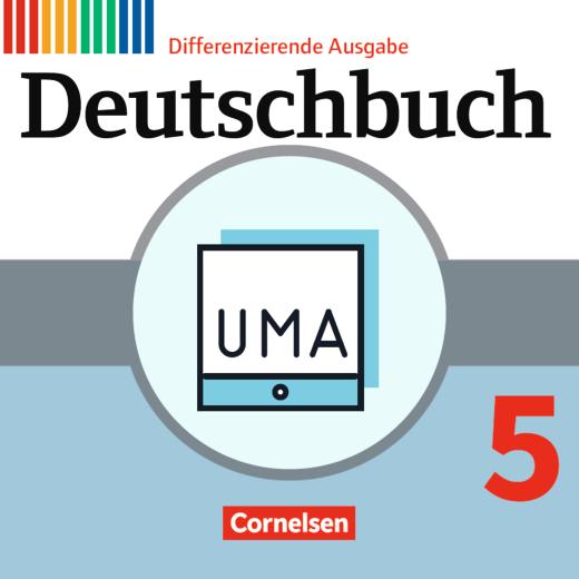 Deutschbuch - Unterrichtsmanager Zusatzmodul - Ergänzende Dateien zur Vollversion - Inklusionsmaterial - online und als Download - 5. Schuljahr