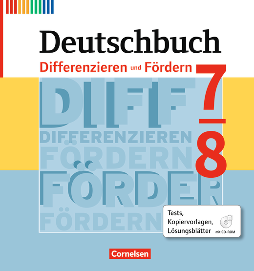 deutschbuch differenzieren und f rdern tests. Black Bedroom Furniture Sets. Home Design Ideas