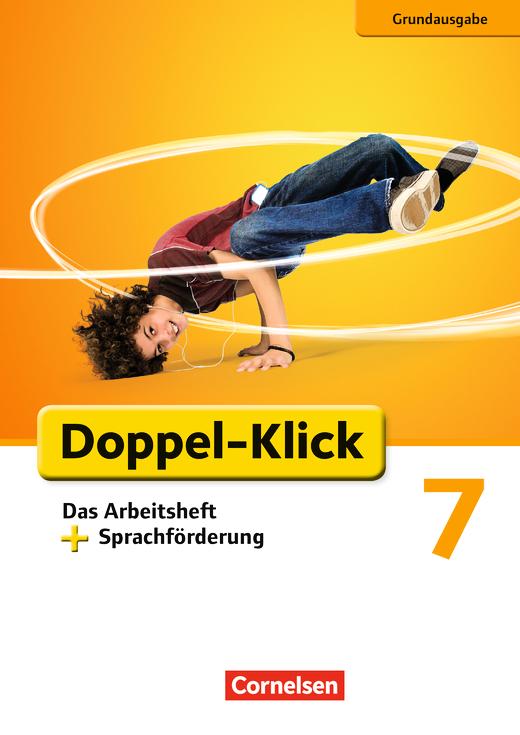 Doppel-Klick - Das Arbeitsheft plus Sprachförderung - 7. Schuljahr