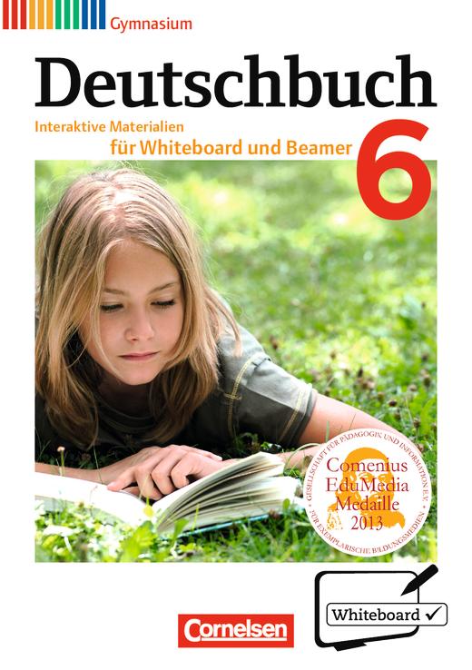 Deutschbuch Gymnasium - Interaktive Materialien für Whiteboard und Beamer - CD-ROM - 6. Schuljahr