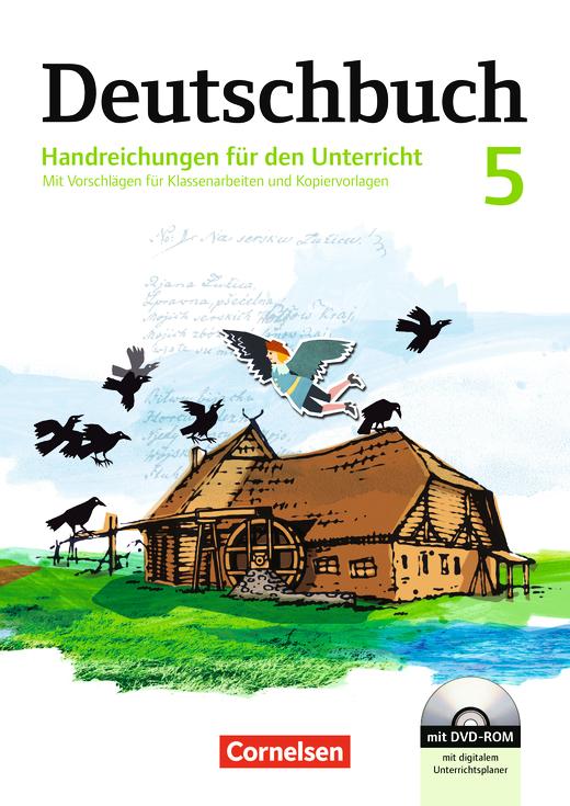 Deutschbuch Gymnasium - Handreichungen für den Unterricht mit CD-ROM - 5. Schuljahr