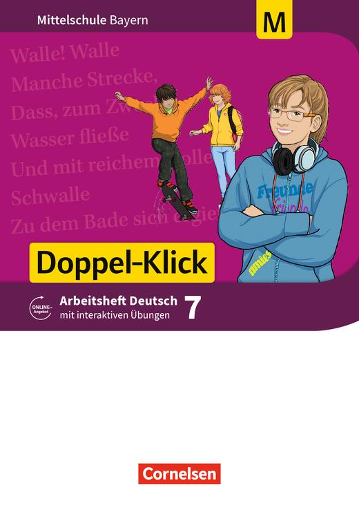 Doppel-Klick - Arbeitsheft mit interaktiven Übungen auf scook.de - 7. Jahrgangsstufe