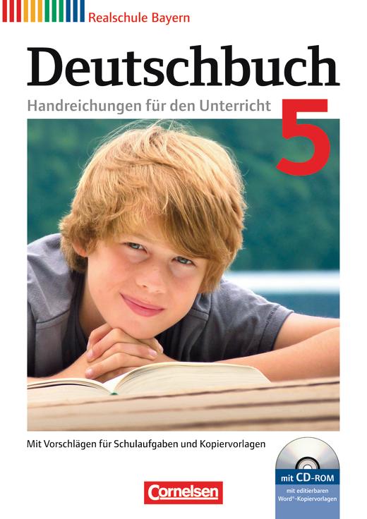 Deutschbuch - Handreichungen für den Unterricht mit CD-ROM - 5. Jahrgangsstufe