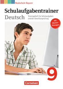 Deutschbuch - Schulaufgabentrainer mit Lösungen - 9. Jahrgangsstufe