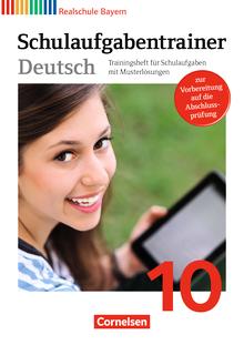 Deutschbuch - Schulaufgabentrainer mit Lösungen - 10. Jahrgangsstufe