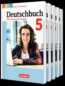 Deutschbuch - Differenzierende Ausgabe Baden-Württemberg 2016