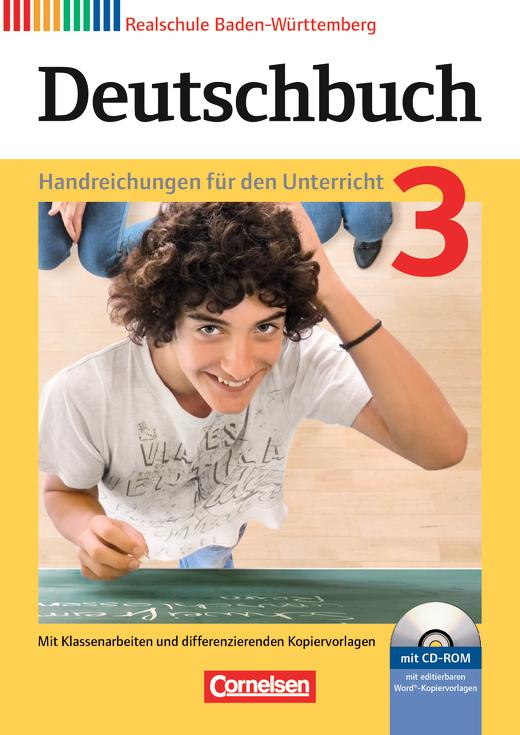 Deutschbuch - Handreichungen für den Unterricht, Kopiervorlagen und CD-ROM - Band 3: 7. Schuljahr