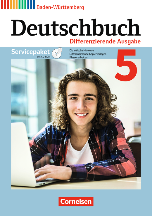 Deutschbuch - Servicepaket mit CD-ROM - Band 5: 9. Schuljahr