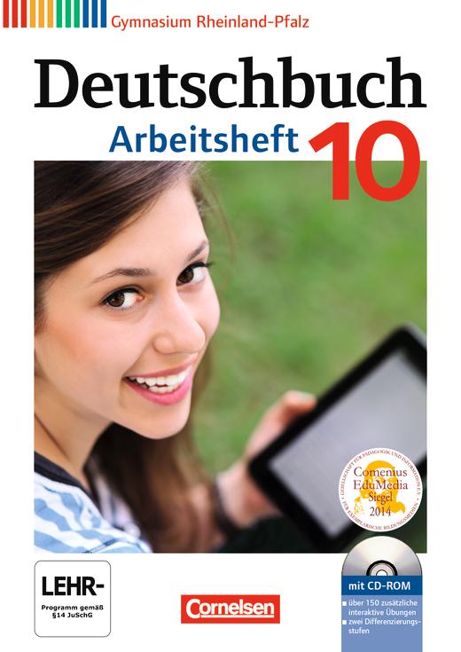 Deutschbuch Gymnasium - Arbeitsheft mit Lösungen und Übungs-CD-ROM - 10. Schuljahr