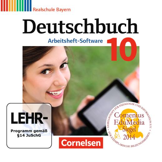 Deutschbuch - Übungs-CD-ROM zum Arbeitsheft - 10. Jahrgangsstufe