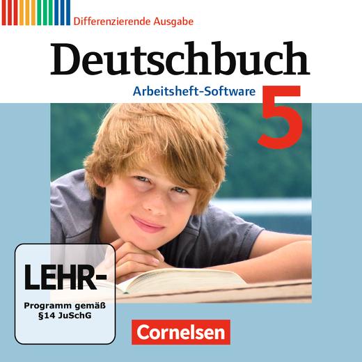 Deutschbuch - Übungs-CD-ROM zum Arbeitsheft - 5. Schuljahr