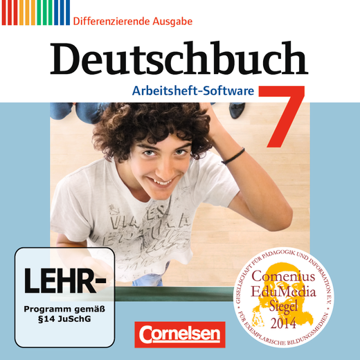 Deutschbuch - Übungs-CD-ROM zum Arbeitsheft - 7. Schuljahr