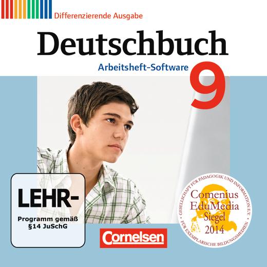 Deutschbuch - Übungs-CD-ROM zum Arbeitsheft - 9. Schuljahr