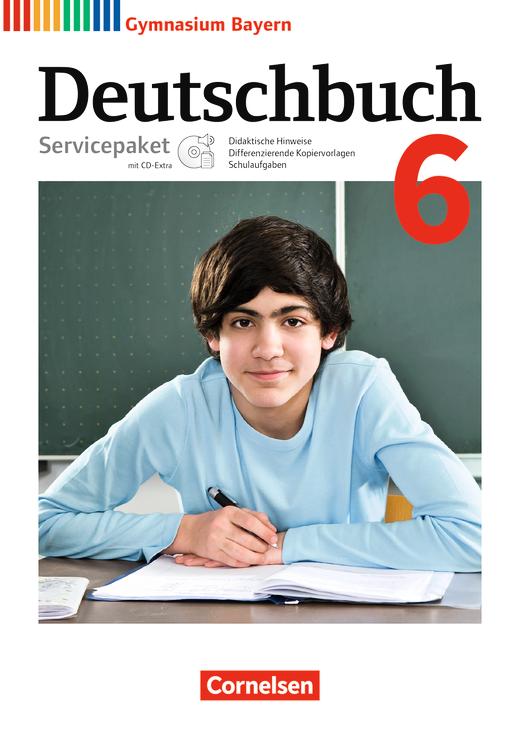 Deutschbuch Gymnasium - Servicepaket mit CD-Extra - 6. Jahrgangsstufe