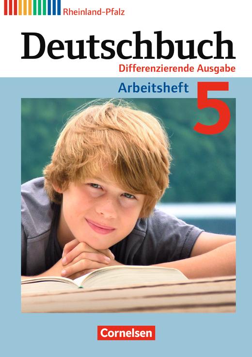 Deutschbuch - Arbeitsheft mit Lösungen - 5. Schuljahr