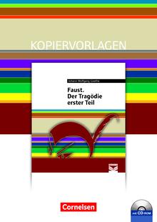 Cornelsen Literathek - Faust. Der Tragödie erster Teil - Empfohlen für das 10.-13. Schuljahr - Kopiervorlagen mit Lösungen und CD-ROM