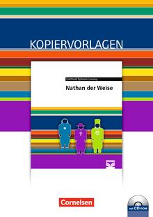 Cornelsen Literathek - Nathan der Weise - Empfohlen für das 10.-13. Schuljahr - Kopiervorlagen mit Lösungen und CD-ROM