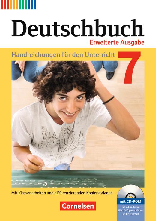 Deutschbuch - Handreichungen für den Unterricht, Kopiervorlagen und CD-ROM - 7. Schuljahr
