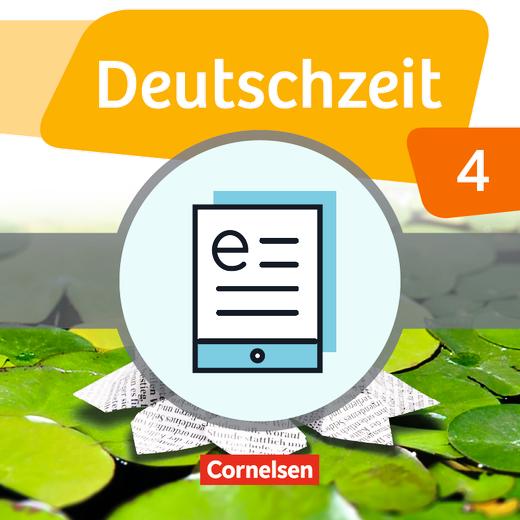 Deutschzeit - Schülerbuch als E-Book - Band 4: 8. Schuljahr