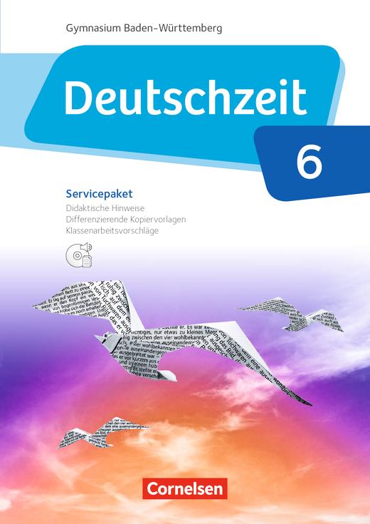 Deutschzeit - Servicepaket mit CD-ROM - Band 6: 10. Schuljahr