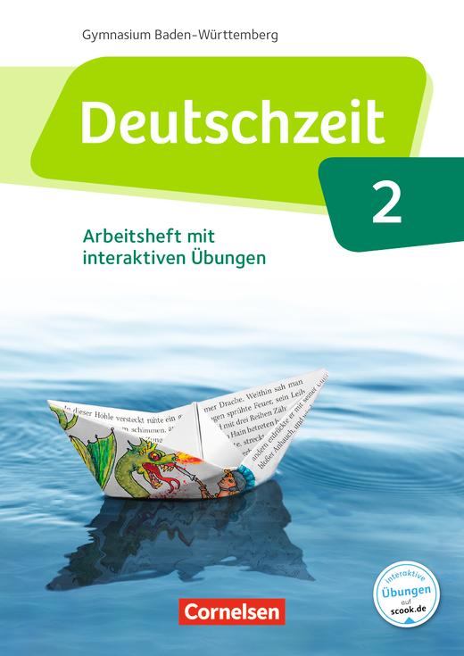 Deutschzeit - Arbeitsheft mit interaktiven Übungen auf scook.de - Band 2: 6. Schuljahr