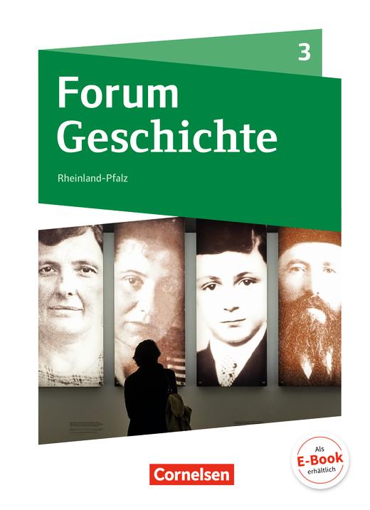Forum Geschichte - Neue Ausgabe - Vom Kaiserreich bis zum Ende des Zweiten Weltkrieges - Schülerbuch - Band 3