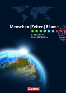 Menschen-Zeiten-Räume - Kombi-Atlas für Baden-Württemberg mit Arbeitsheft